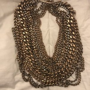 Courtney Kerr for Bauble Bar Gold Chain Necklace